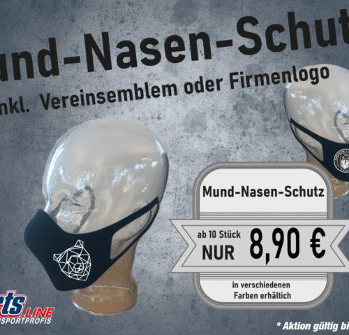 Masken oder Mund-Nasen-Schutz Aktion!